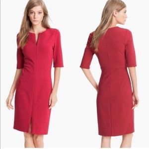 Dvf dress gently used lighter in tone not as red